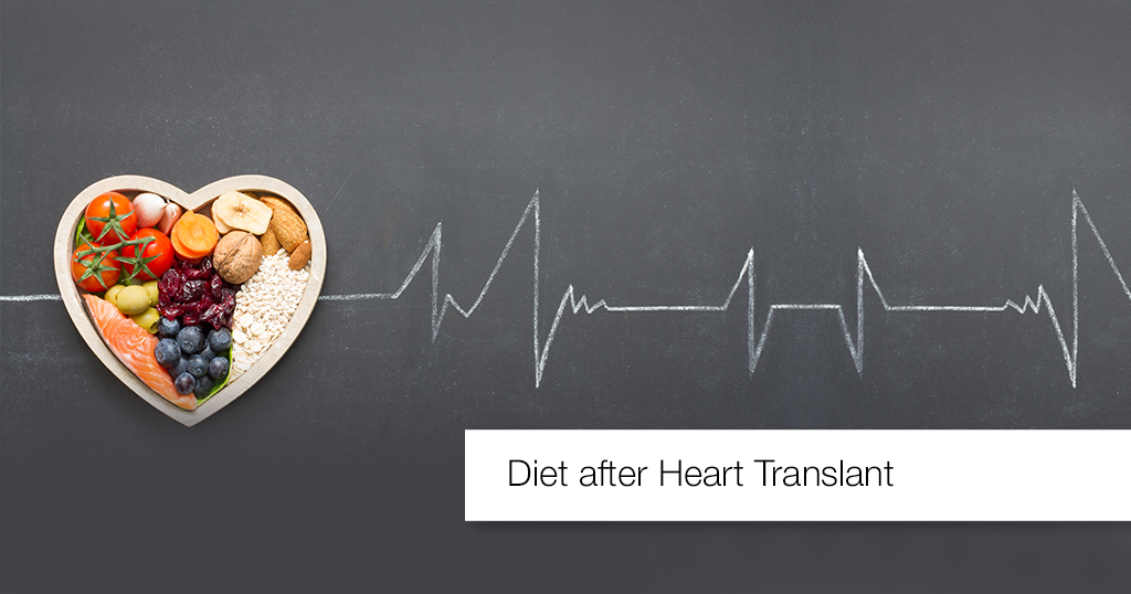 heart transplant vegetarian diet